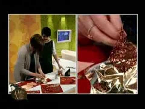 MANI DI LARA - Orecchini in filigrana d'oro - YouTube