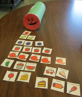StrongStart: The Very Hungry Caterpillar.  Feed the caterpillar the pictures of the food in the correct sequence.