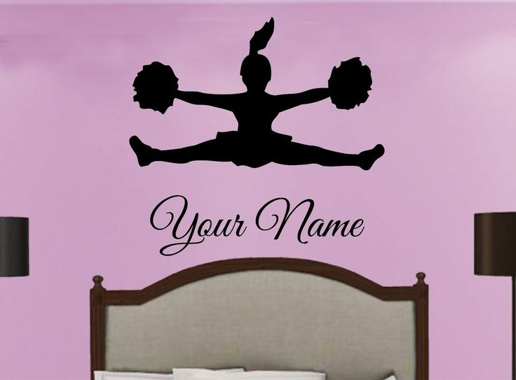 Pinterest the world s catalog of ideas for Cheerleader wall mural