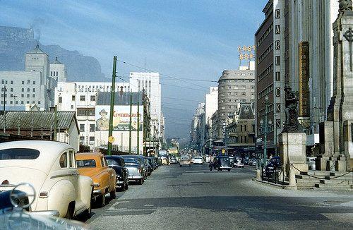 Adderley street, 1955.