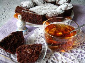 Шоколадно-абрикосовые кексы