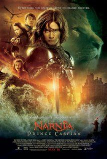 The Chronicles of Narnia: Prince Caspian movie poster. Did you see this movie? It is one of my favorite movies.