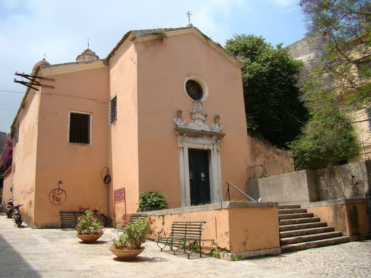 Roman Catholic Church of Tenedos -  dedicated to the Blessed Virgin of Carmel and it is named after an icon of the Virgin Mary which was brought to Corfu when the Venetians were forced to evacuate the island of Tenedos which was captured by the Turks in 1657.