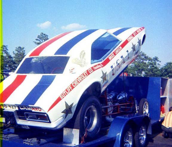17 Best Images About USA 1 Bruce Larson Drag Cars On