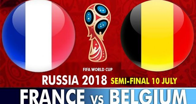 France Vs Belgium Full Match Replay 10 July 2018 World Cup Groups Soccer World Cup 2018 World Cup