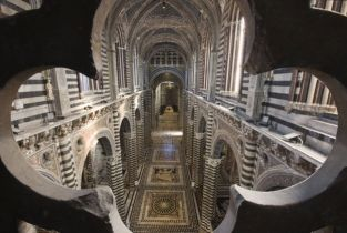 Siena Cathedral opens Gateway to Heaven for spectacular views of the church below