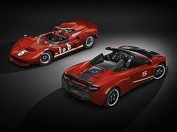Coches de carreras nuevas McLaren 560s Classic y Can-Am Wallpaper