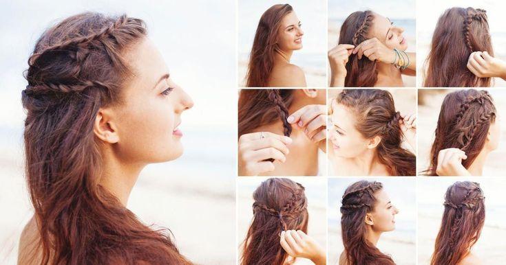 Mit langen Haaren kann man so viel machen – diese fünf simplen Zopffrisuren zum Beispiel, für die Sie wahrlich kein Profi sein müssen. Wir erklä…