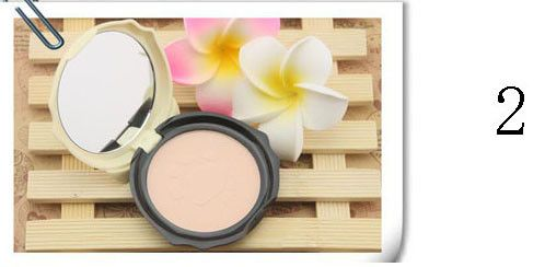 1PC Face Make Up Puff cake Cats Style Makeup Pressed Finishing Powder with Powder Puff A2