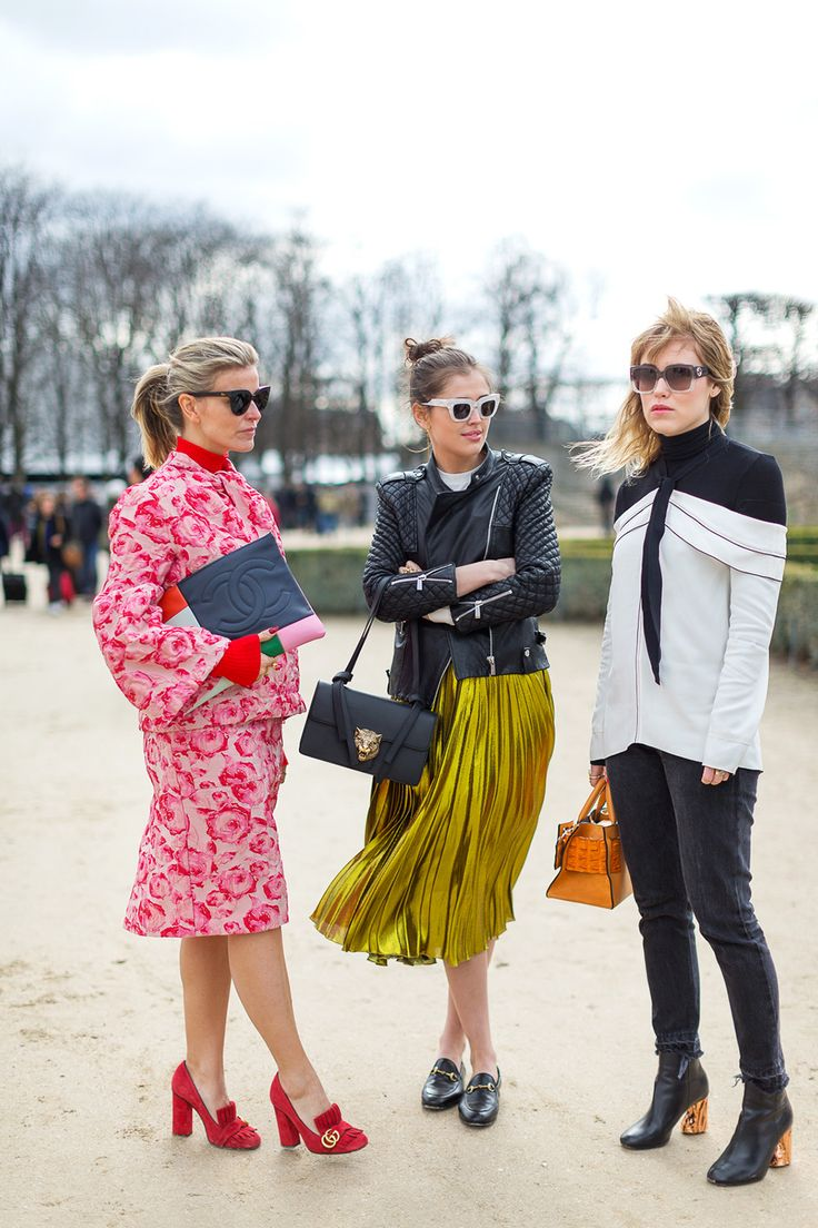 Street Chic: Style from Paris fashion Week Fall 2016 - March 2016