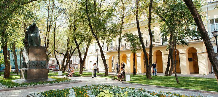 NIKOLAI GOGOL HOUSE #moscovery #moscow #nikolai #gogol #house