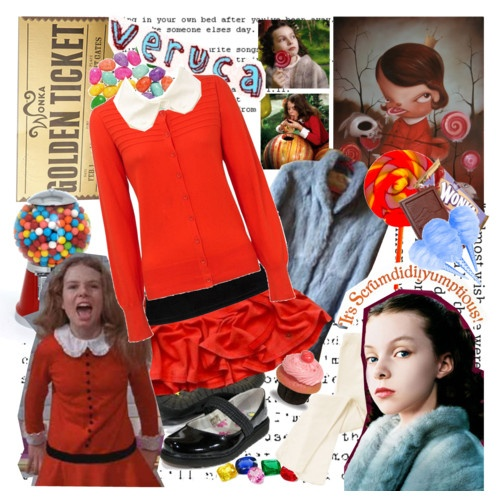 Charlie & the Chocolate Factory party - Veruca Salt style ...