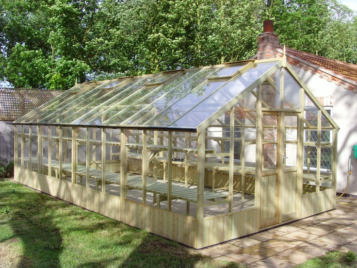 Swallow Falcon 13x37 Greenhouse with Double Door + FREE INSTALLATION  £8437.00  http://www.greenhousestores.co.uk/Swallow-Falcon-13x37-Wooden-Greenhouse.htm