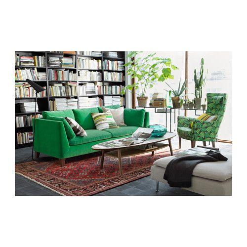 stockholm 3er sofa sandbacka gr n ikea office inpiration pinterest stockholm sofa und. Black Bedroom Furniture Sets. Home Design Ideas