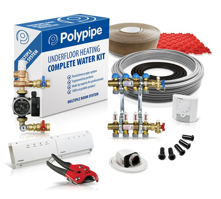 Polypipe multiple room system - Polypipe - Water Underfloor Heating