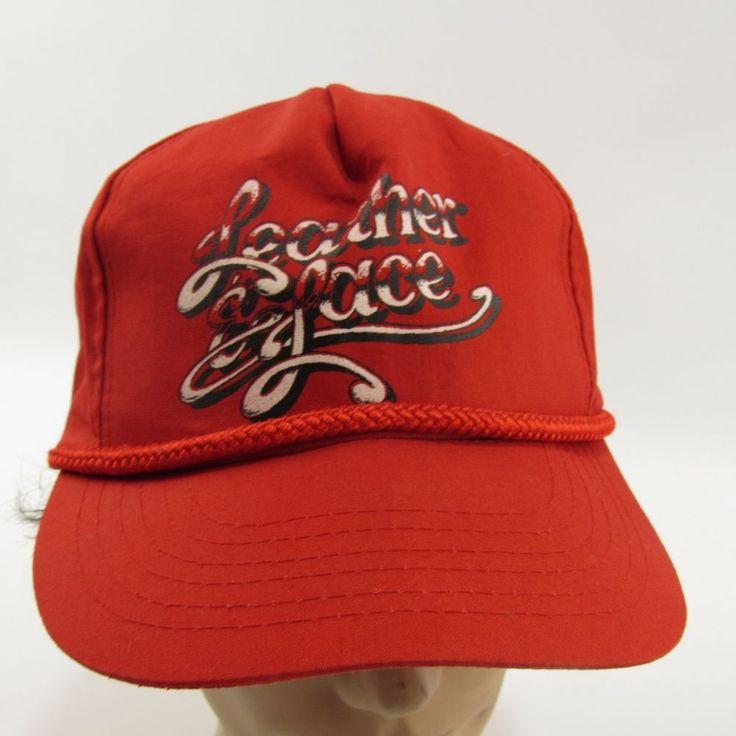 Details about Leather & Lace Strip Club Hat Ball Cap Adjustable Gentlemen's Snapback Trucker