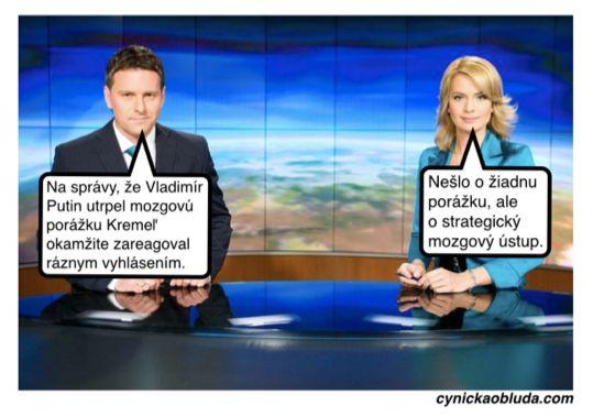 Cynická obluda: Kremeľ vyvracia fámy
