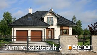 ARCHON+ Biuro Projektów - YouTube Zobacz film z realizacji - Dom w kalateach 2. Więcej na: http://archon.pl/gotowe-projekty-domow/dom-w-kalateach-2-ver-2/mf861f748a1880