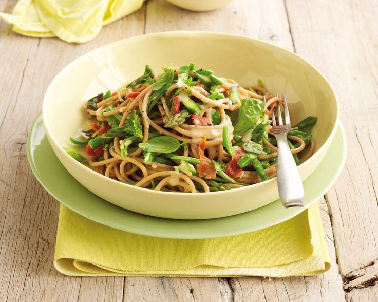 Creamy pasta: Recipe courtesy of Healthy Food Guide Magazine