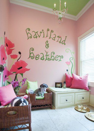Pet room designed by Lou Anne Herget