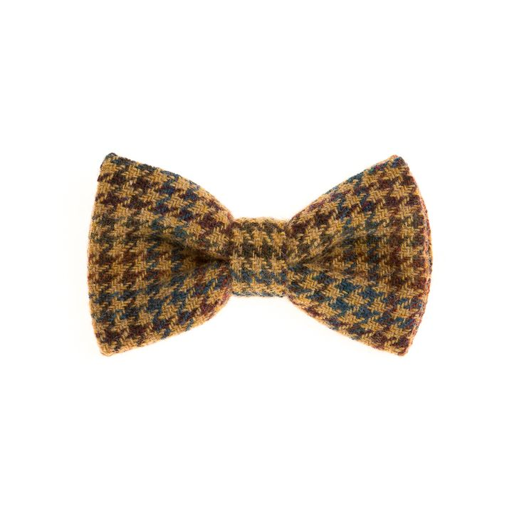 """Donegal Houndstooth"" Donegal #Tweed  #Bowtie. FREE Worldwide Shipping!"