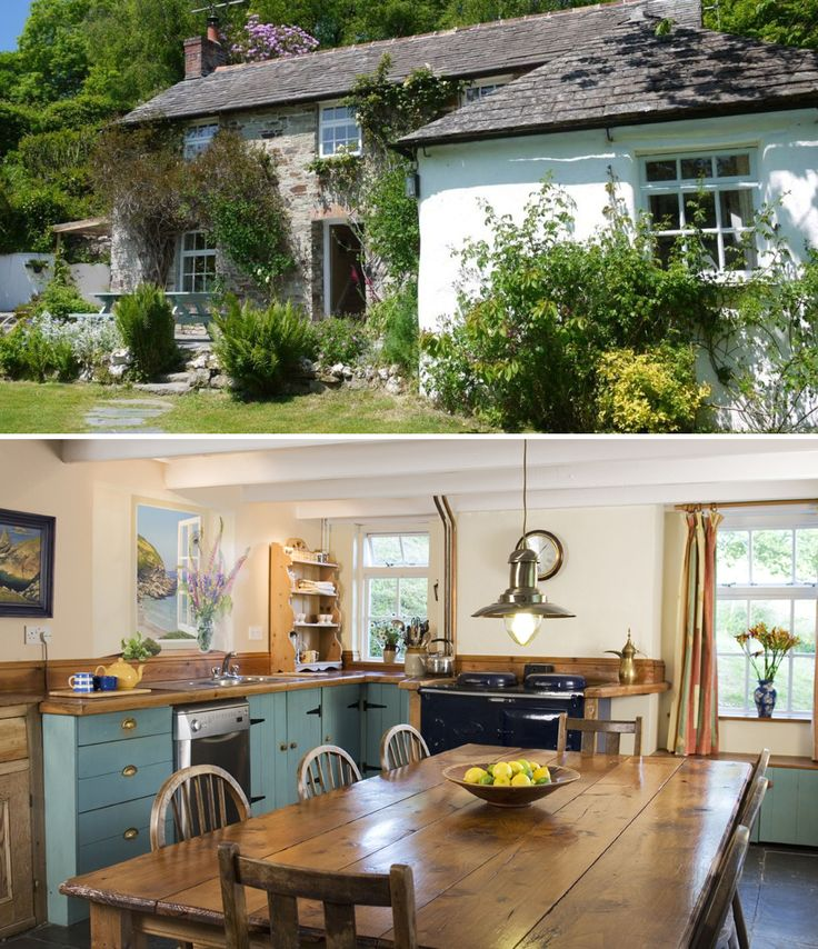 Pictures Of English Cottages From The 1920 S With Attached: This Rustic 18th Century Farmhouse Couldn't Be More