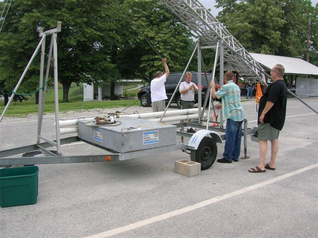field day 2006 portable antenna tower trailer. Black Bedroom Furniture Sets. Home Design Ideas