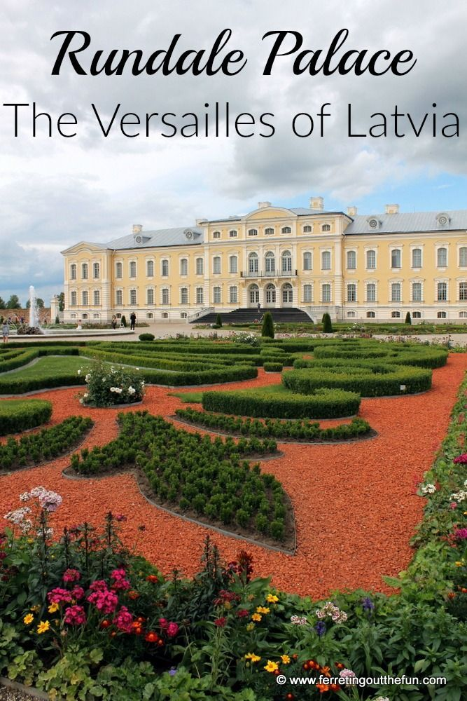 Rundale Palace, the Versailles of Latvia