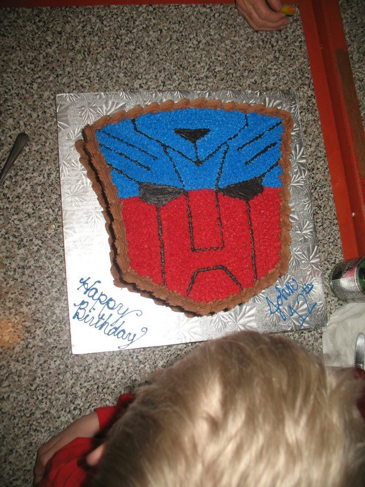 Transformers Birthday Cake... I could do this!