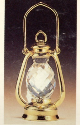 Swarovski Crystal Lantern.