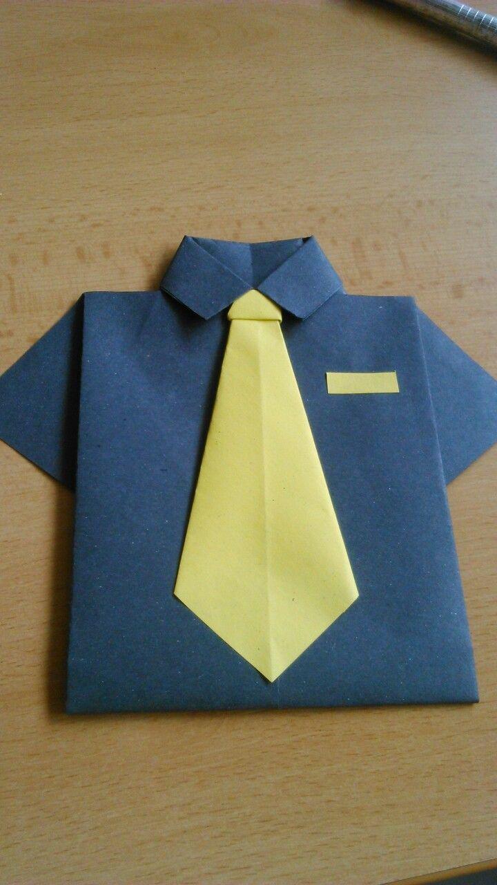 Origami - Přání ke dni otců
