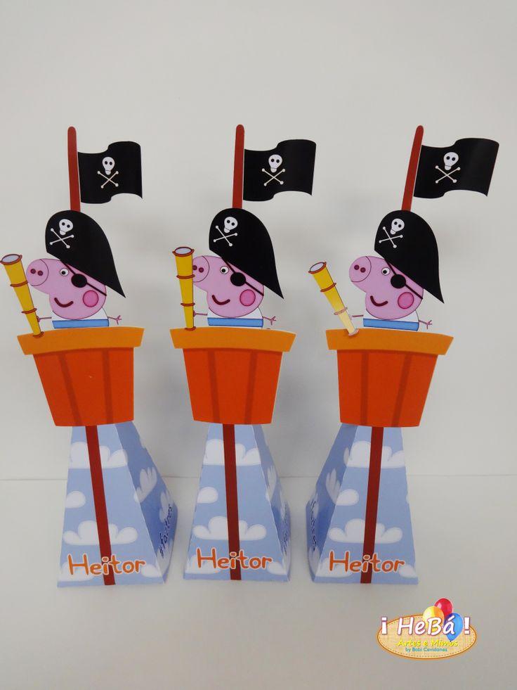 Cone George Pig Pirata