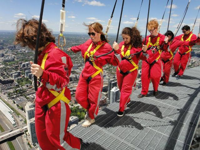 EdgeWalk, CN Towers, Toronto