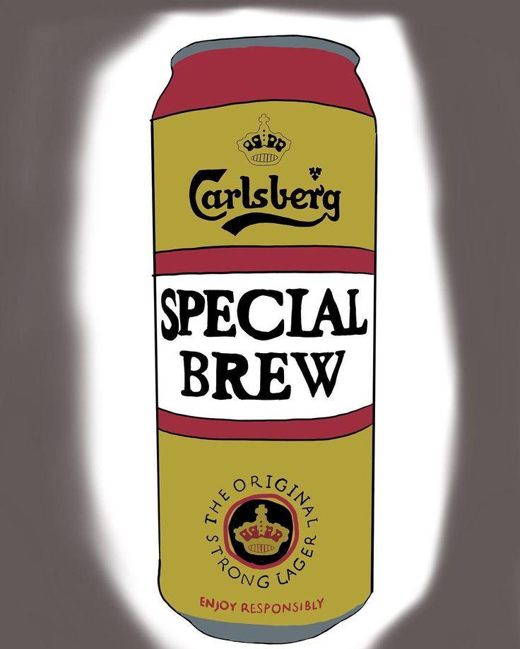 Special brew #carlsberg #badmanners #alcohol #goodsong #trampdrink #chav #uk #beer #booze #illustration #drawing #artstagram #digitalart #procreate #ipadpro #popart #warhol #andywarhol #graphicdesign