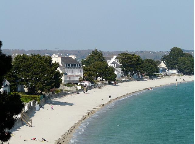 plage de mon enfance: le Cap Coz à fouesnant, Finistère.