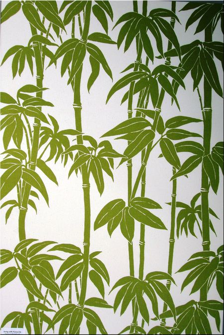 Florence Broadhurst Japanese bamboo - fabric or wallpaper?