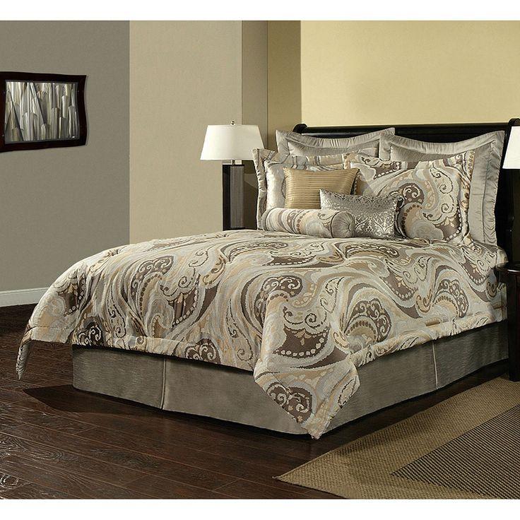 sherry kline bel air paisley 4piece luxury comforter set by sherry kline