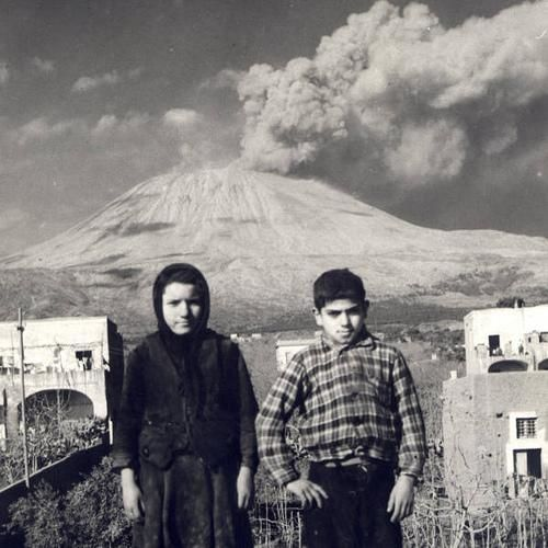 Vesuvio in 1944 eruption.