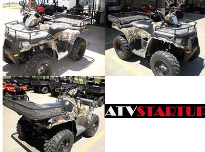Find Used 2013 Polaris #Sportsman 500 H.O Work Utility #ATV has Legendary smooth ride & handling Integrated front storage box has 6.5 gal, volume On-demand true AWD maximizes traction A full 11.25 in, of boulder-avoiding ground clearance Bright White automotive style paint with 25 in, Kenda K590 tires and Limited Edition decal package Polaris Pursuit Camo paint with 25 in, Kenda K590 tires & Limited Edition decal package. For more by El Campo Cycle Center in El Campo, TX, USA…
