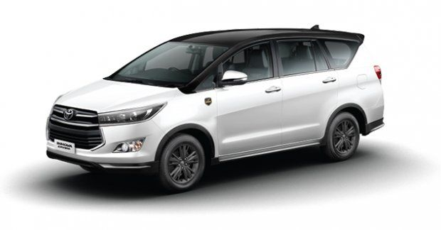 Toyota Innova Crysta Leadership Edition Launched Priced At Inr 21 21 Lakh In 2020 Toyota Innova Product Launch Toyota