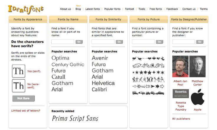 Identifont: Herramienta para identificar tipografías - https://www.puertopixel.com/identifont-herramienta-para-identificar-tipografias/