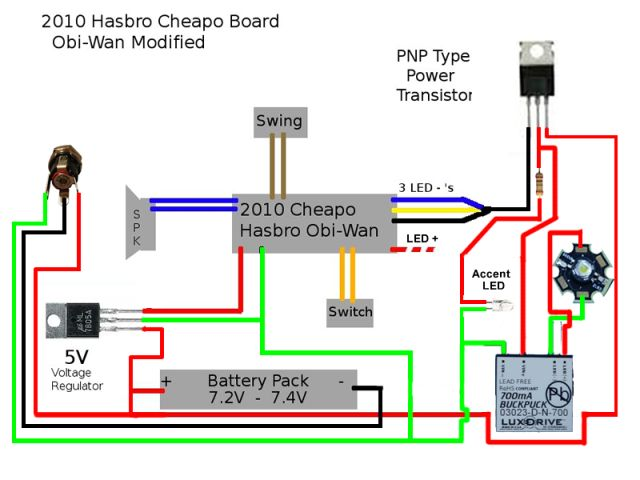 Lightsaber Wiring Diagram