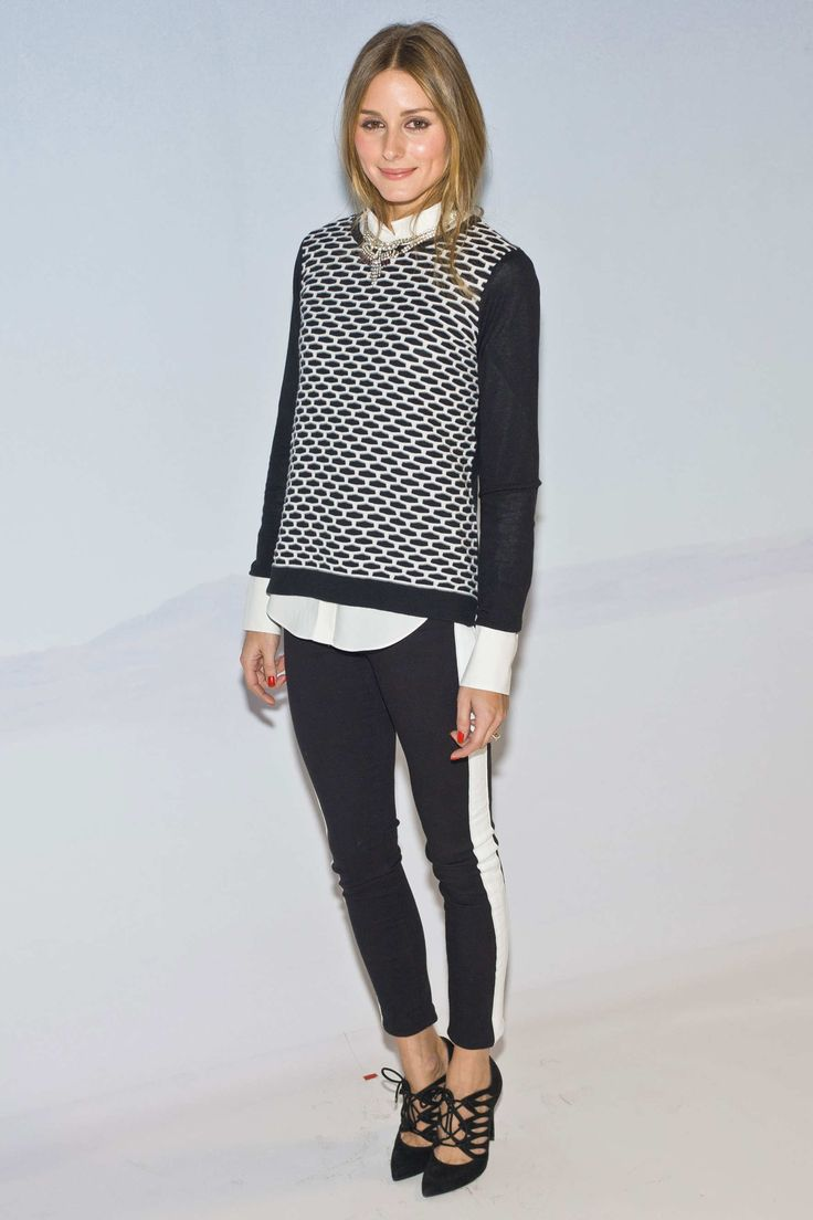 Love this outfit on Olivia Palermo.