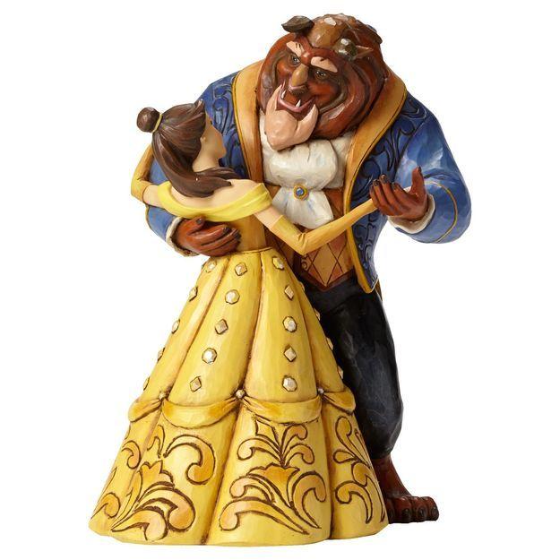 Jim Shore® Beauty and the Beast Dancing Figurine, 25th Anniversary