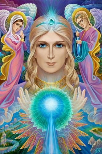 Blessing you all today with the emerald green healing energy of Archangel Raphael ~ Angel of Divine Healing: