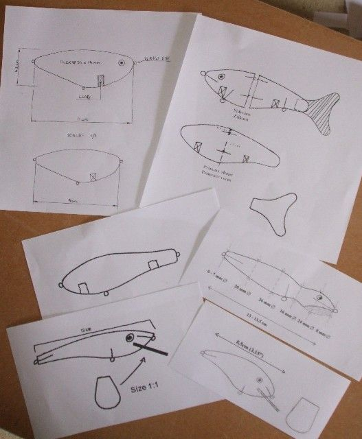 Before starting work on a fishing lure you will need some Lure Templates. Here is a list of sites where you can find the best lure templates online.