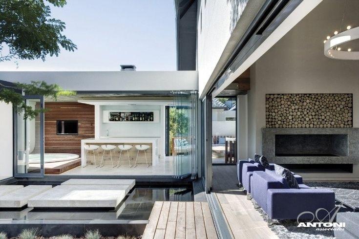 Pearl Valley House Interior by Antoni Associates 03 #https://www.facebook.com/ThreeLittlePigsColourAndDesign #house #indoor/outdoor