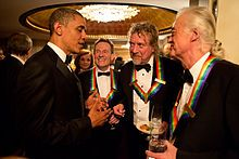 Led Zeppelin honored at the Kennedy Center.