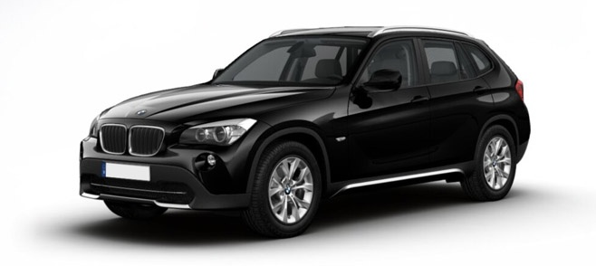 My whip when I go to BC.   BMW X1 xDrive18d