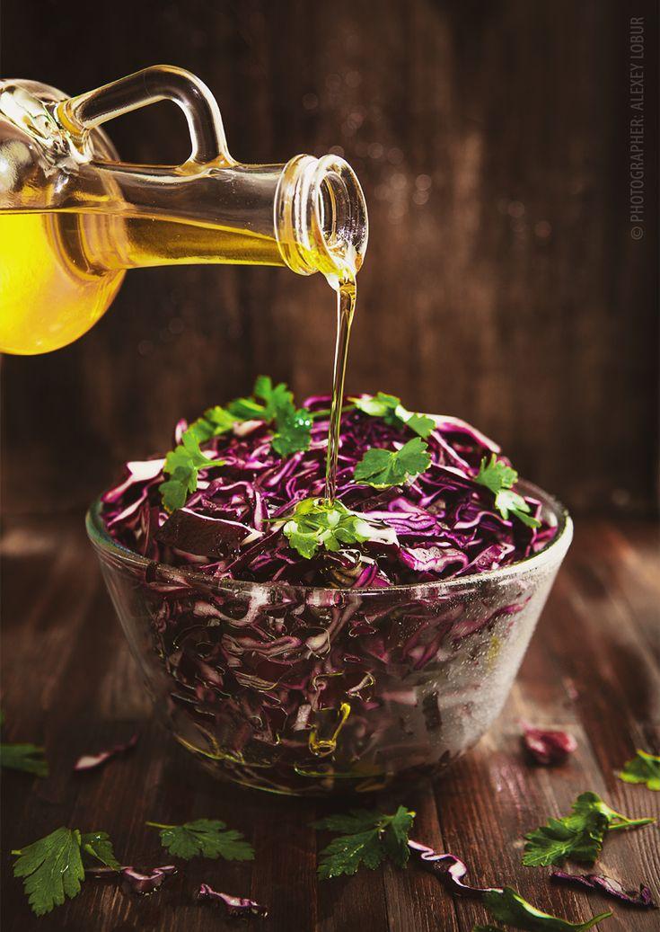Food-photo «Salad with cauliflower» / Product & Food Photo / Alexey Lobur: professional photographer & retoucher    #foodphoto #foodphotography  #retouch